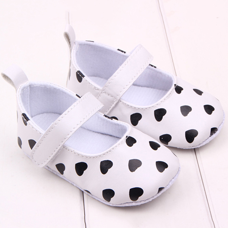 Baby Boy Girl First Walkers Toddler Infant Newborn Shoes Girls Lace-Up Brand PU Leather ...