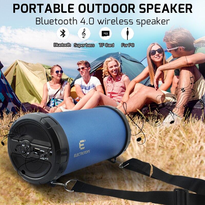 Drahtlose Bluetooth Lautsprecher Bazooka Laut Hallo-fi Schwere Bass Outdoor Tragbare Lautsprecher Mit AUX/tf-karte/FM Radio