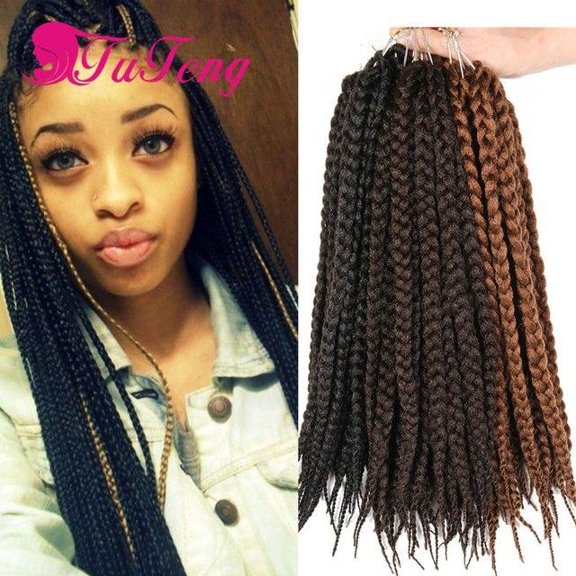 12 Box Braids Hair 75gpack 3s Freetress Crochet Box Braid