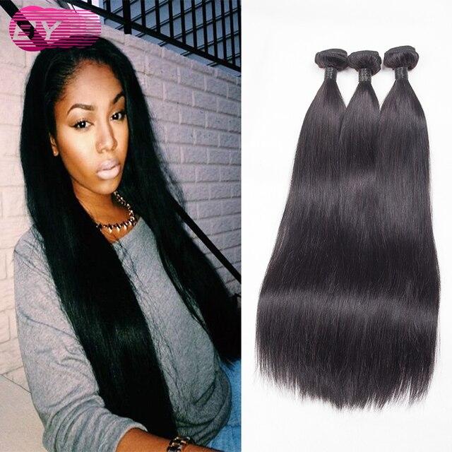 Malaysian Straight Hair True Glory Human Weave Virgin 3 Bundles Long Y