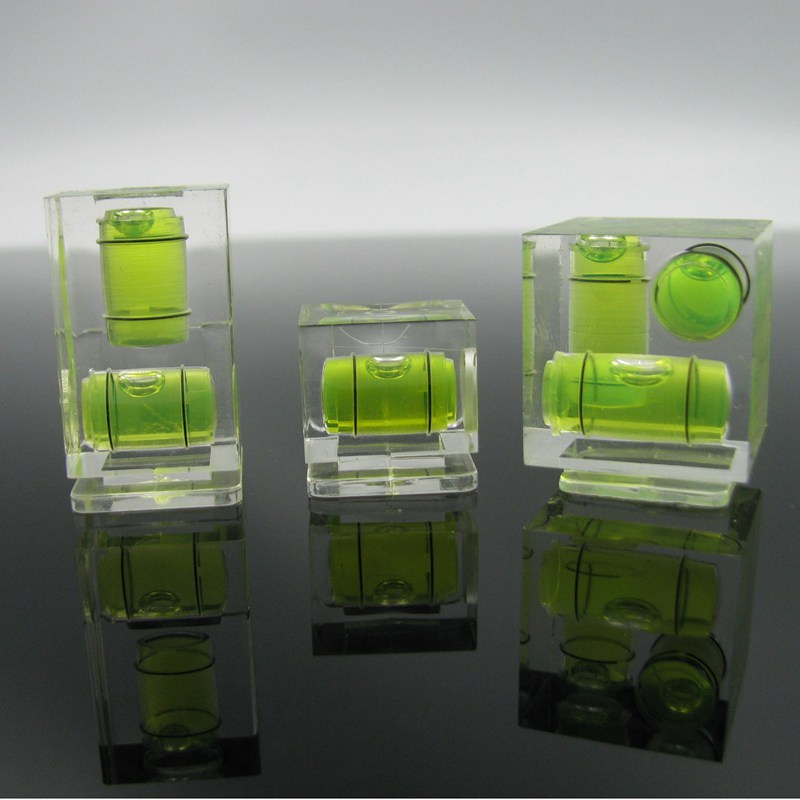 HACCURY Square Acrylic Spirit Mini Level Bubble Camera Bubble Level for Nikon Samsung Canon 1pcs