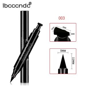 Image 5 - Hot 4 Styles Eyeliner Stamp Pencil Black Liquid Makeup Waterproof Long lasting Eye Liner Wing Stamps delineador