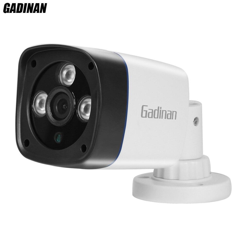 Câmera AHD 720 p CMOS Sensor 2000TVL Gadinan Filtro IR-Cut Interior/Ao Ar Livre À Prova D' Água 1080 p 3.6mm lente da Câmera De Segurança De Plástico