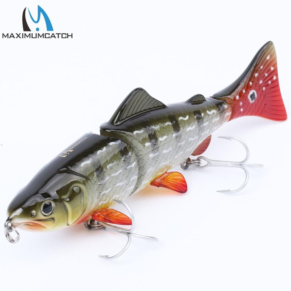 Maximumcatch Bait Hard 1Pcs 3 Seksioni i Joshur Swimbait Lures - Peshkimi - Foto 6
