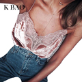 2017 Summer Lace Top Tees Fashion V-Neck Lace Tshirt Casual Beach Girls Sleeveless Tops Female Sexy Velour Top