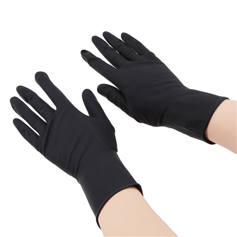 High Quality Hair Straightener Perm Curling Hairdressing Heat Resistant Glove Black Glove Styling Hairdressing Accessories New