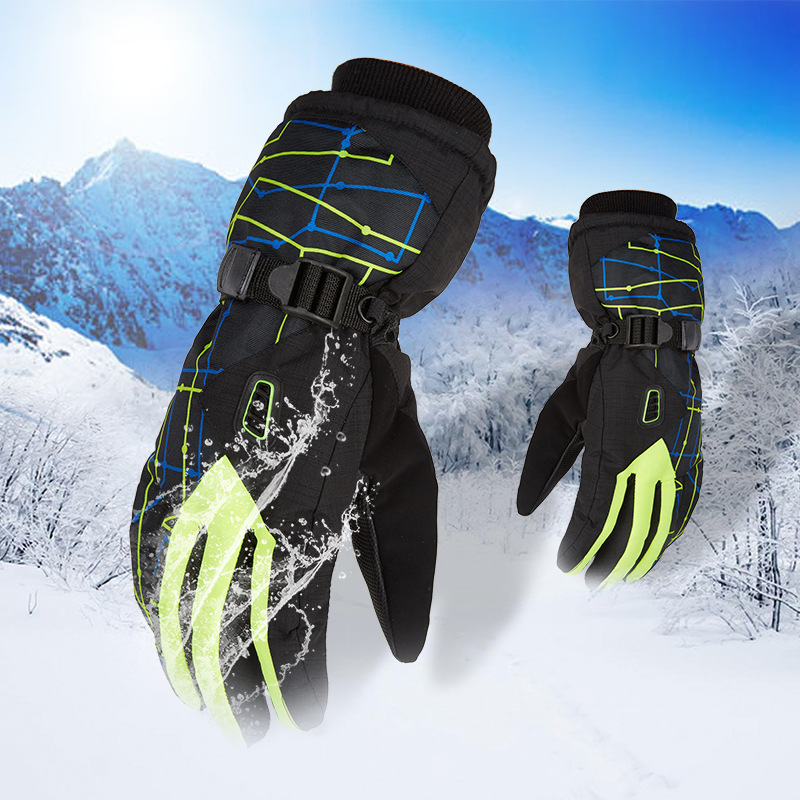 2019 New Outdoor Sports Gloves Skiing Gloves Men Women Winter Bicycle Motorcycle Skiing Skis Snowboard