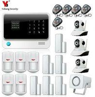 SmartYIBA Беспроводной GSM сигнализации Системы WI FI безопасности Камера наблюдения дверь открытой/закрыть сигнализация проводной Рог движения с