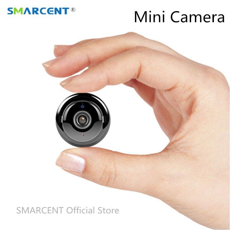 Smarcent Q1 720 P VR мини Камера Беспроводной WI-FI инфракрасный Ночное видение Камара безопасности IP Камера обнаружения движения Secret kamera