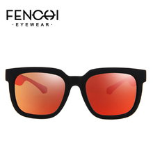 FENCHI sunglasses men polarized brand Classic Frame Design Retro Driving UV400 oculos de sol masculino