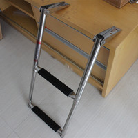 2 Step Boarding Telescope Ladder For Marine Boat Swimming Pool