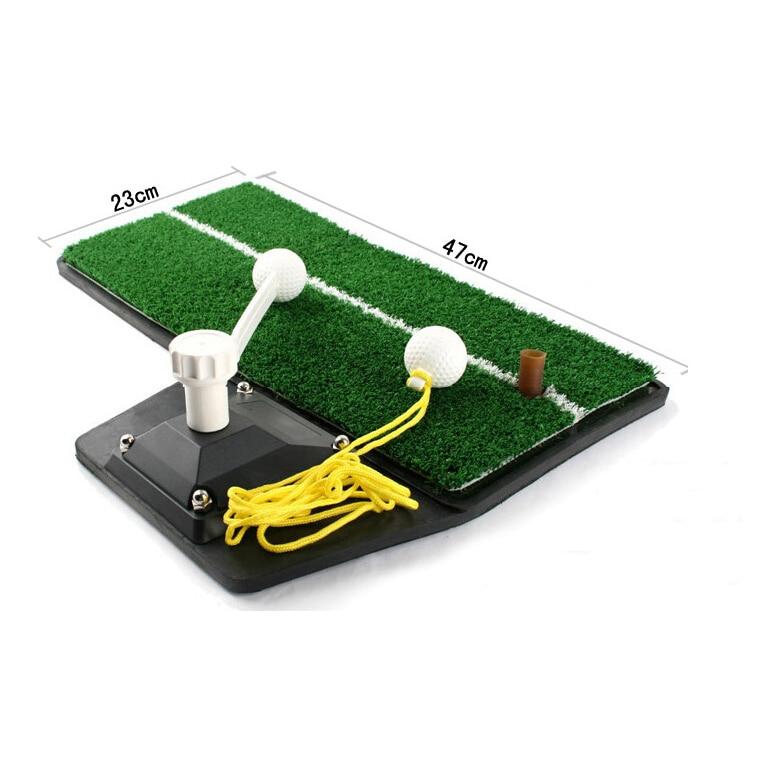 Jurulatih Golf Practice device tahan lama Indoor Golf Swing mat Mat golf swing trainer