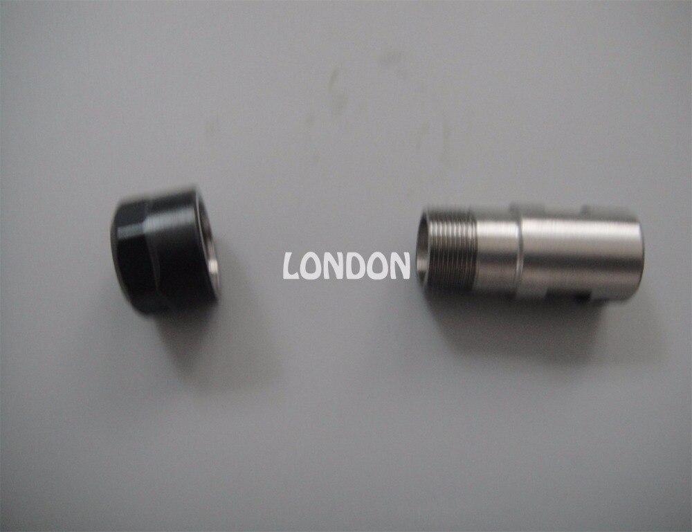 husillo máquina herramienta varilla de sujeción ER11 eje 8 motor alargado cuchillo de sujeción máquina de grabado conjunto de taladro tomar con ER11 3.175