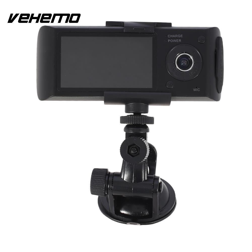 Vehemo 2.7nches HD1080P GPS Car DVR G-Gensor Dash Cam Driving Recorder Motion Detection Dual Lens
