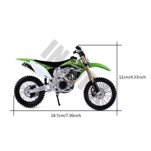 Image 2 - RC Car Simulate Plastic Motorcycle for 1/10 RC Rock Crawler Traxxas TRX4 Axial SCX10 90046 D90 D110