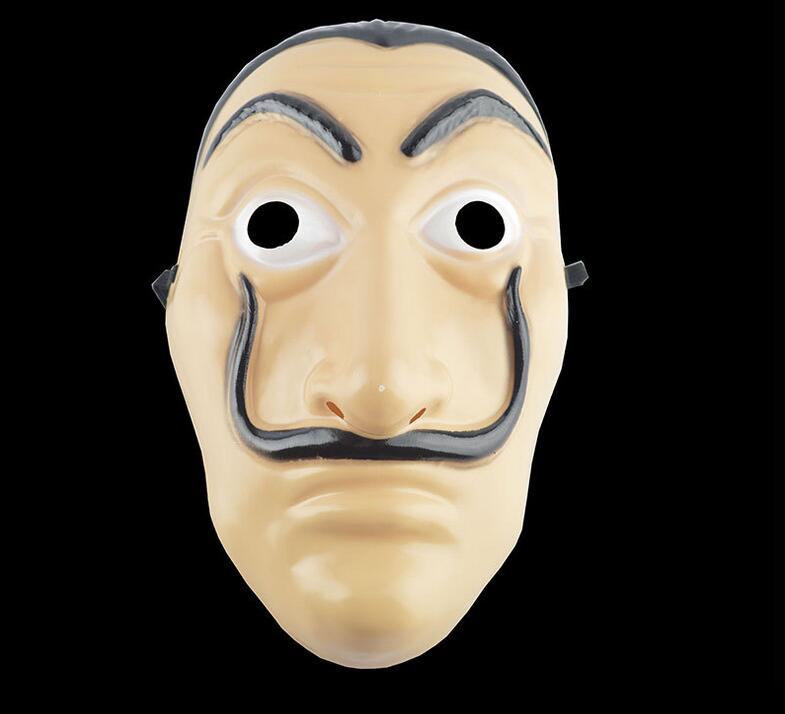 Comedy Master La Casa De Papel Dali Mask Halloween Masquerade cosplay Funny Accessories