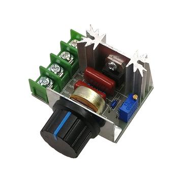 AC SCR 220V 2000W Regulator napięcia ściemniacze ściemniacze Regulator prędkości silnika termostat elektroniczny Regulator napięcia moduł tanie i dobre opinie Jednofazowy AC 220V 2000W SCR