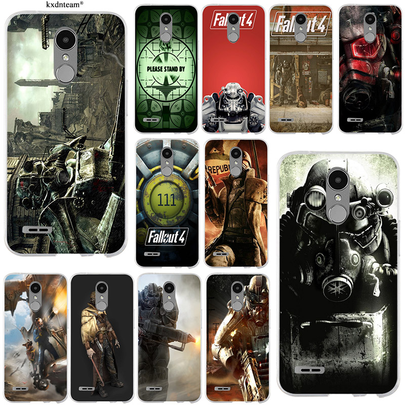Fallout 4 Video Games Soft Mobile Phone Cases TPU Silicon