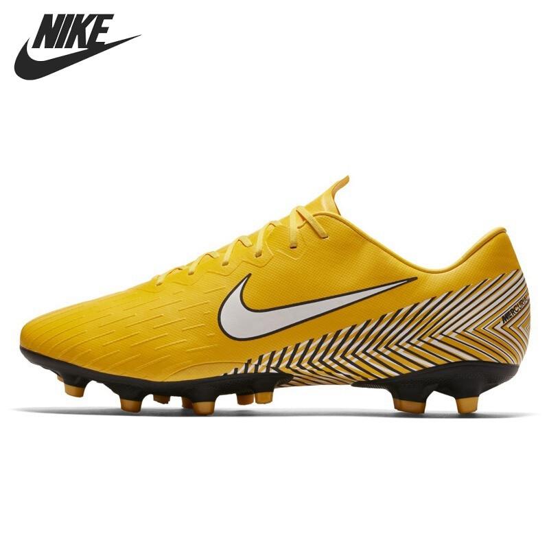 Original New Arrival 2018 NIKE VAPOR 12 PRO NJR AG-PRO Men's Football Shoes Sneakers original euresys picolo pro