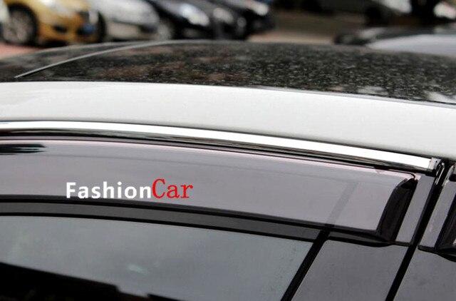 Для mercedes-benz 2015 2016 GLE купе C292 окно козырек вентиляционные оттенок / вс / ветер гвардии стайлинга автомобилей