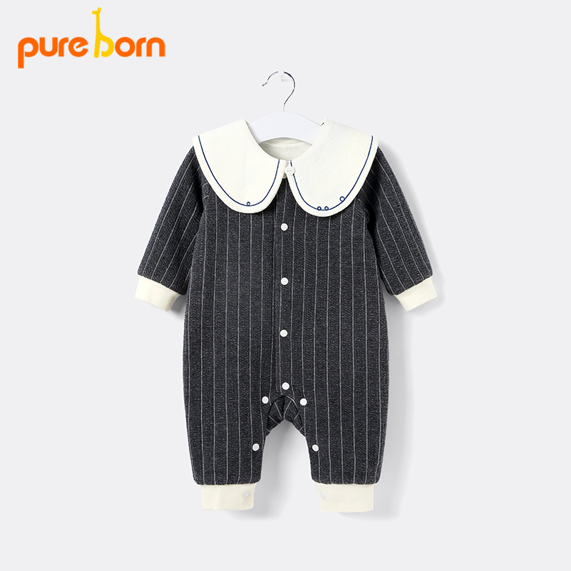 Aliexpress Com Buy Pureborn Newborn Royal Baby Romper