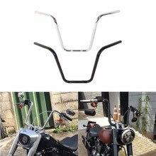 Motorcycle 1Black 14 Ape Chrome Black Hanger HandleBar For Harley Sportster XL 883 XL1200 All Year