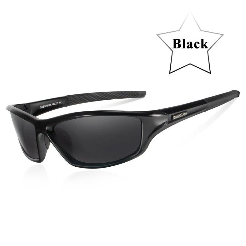 Queshark UV400 Polarized Cycling Glasses Sports Bicycle Sunglasses Bike Glasses Ski Goggles Fishing Cycling Hiking Eyewear 9