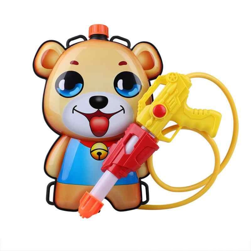 Смешно водяной пистолет игрушки милый мультфильм животных рюкзак Давление навигация бассейн с водяной пистолет игрушки Long Range пляже, играть в игры спортивные игрушки