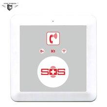 GSM SOS Caller Alarm Dialer Alarm Panel SOS Phone Dialer Panel SOS Phone Elderly Phone King Pigeon K1