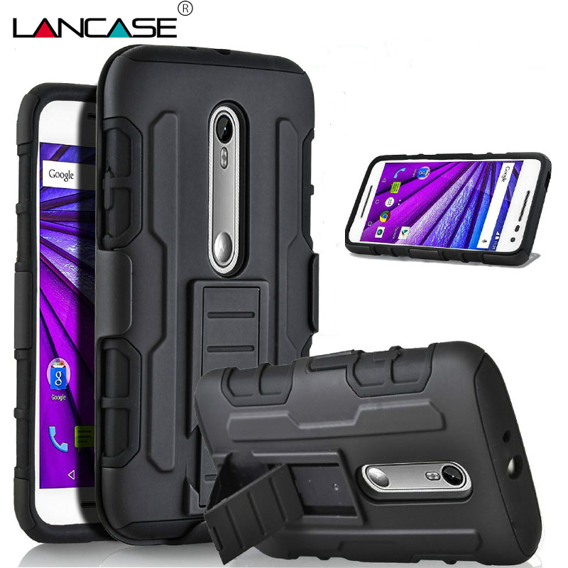 premium selection 32d8a c87ba US $4.93 |For Moto G4 Plus Case Hybrid Armor Case Coque For Motorola Moto  G4 Plus G3 G1 X Play Cover G4 Case Silicon Belt Clip Holster -in Holsters &  ...