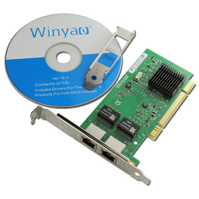 10/100/1000 Mbps Portas Dual PCI Cartão com 82546EB Gigabit Ethernet Servidor/GB Chipset