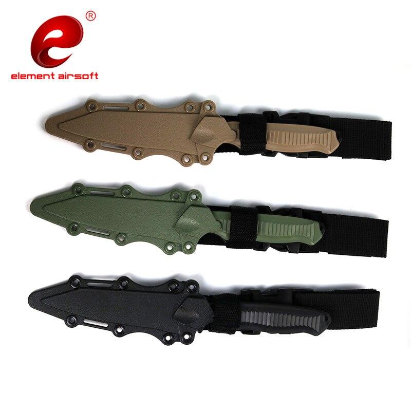 ALI shop ...  ... 32832209772 ... 4 ... Element Airsoft Tactical Accessories Enthusiasts M9 CS Cosplay Prop Combat Bayonet Rubber Train Sheath Knife Model Sword CY338 ...