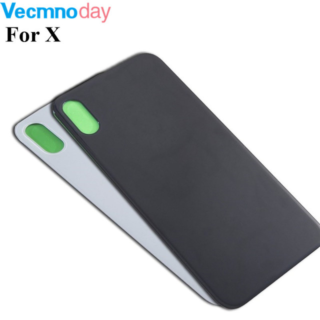 size 40 bb5ff a13e0 US $7.88 |Original Back Cover Case Replacement For iphone X XS XS Max XR  Rear Glass Battery Door Housing + Adhesive Sticker With Logo-in Mobile  Phone ...