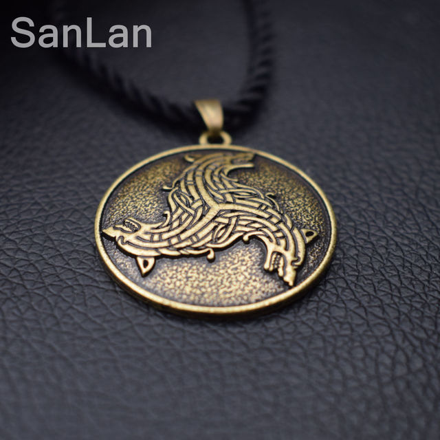 12pcs wolves celtic spiritual vikings magic nordic amulet pendant necklace viking celtic wolf pendants sanlan jewelry in chain necklaces from jewelry 12pcs wolves celtic spiritual vikings magic nordic amulet pendant necklace viking celtic wolf pendants sa Choice Image