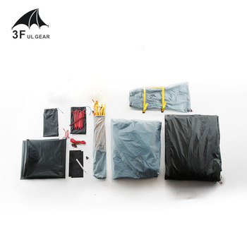 3F UL GEAR Outdoor Ultralight Camping Tent 3/4 Season 1 Single Person Professional 15D Nylon Silicon Tent Barracas Para Camping 5