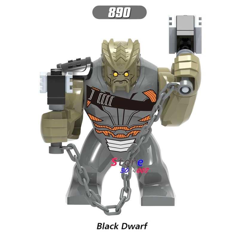 シングルアベンジャーズ無限大戦争黒矮星スーパーヒーロー 7 センチメートル Thanos さんハルクカル黒曜石モデルのビルディングブロックのおもちゃ子供