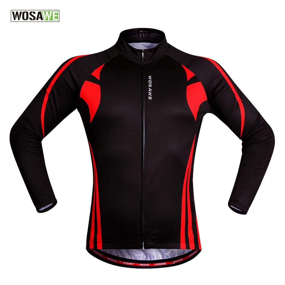 Цена за Wosawe 2016 pro team ciclismo с длинным рукавом велоспорт джерси майо ciclismo велоспорт clothing bicicleta джерси