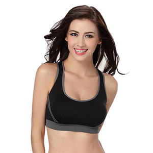 b9a63c3ccf sport bra Women yoga fitness Padded Bra top Running Yoga Bra Shockproof Push  Up Wire