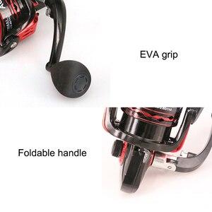 Image 5 - YUYU Metal Fishing Reel Spinning Reel for carp fishing metal spool 1000 2000 3000 4000 5000 6000 Ratio 5.5:1 Fishing Tackle