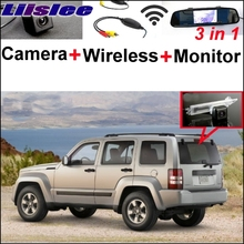 Liislee Wireless Receiver Mirror Monitor EASY Parking System For Jeep Patriot Liberty 2007~2015 + 3 in1 Special Rear View Camera