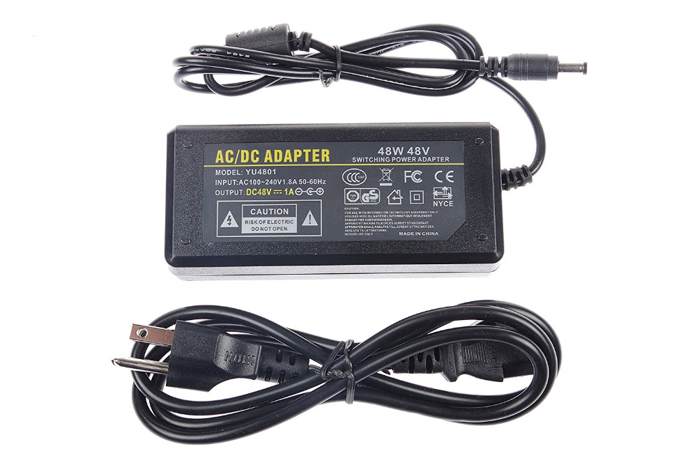 AC DC Power Supply 48V 3A 2A 1A Adapter Charger Transformer For LED Strip Light CCTV Camera With IC Chip 4