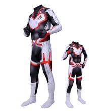 Hot New Avengers Endgame Quantum Realm Cosplay Bodysuit Suit Jumpsuits Superhero Halloween Costume