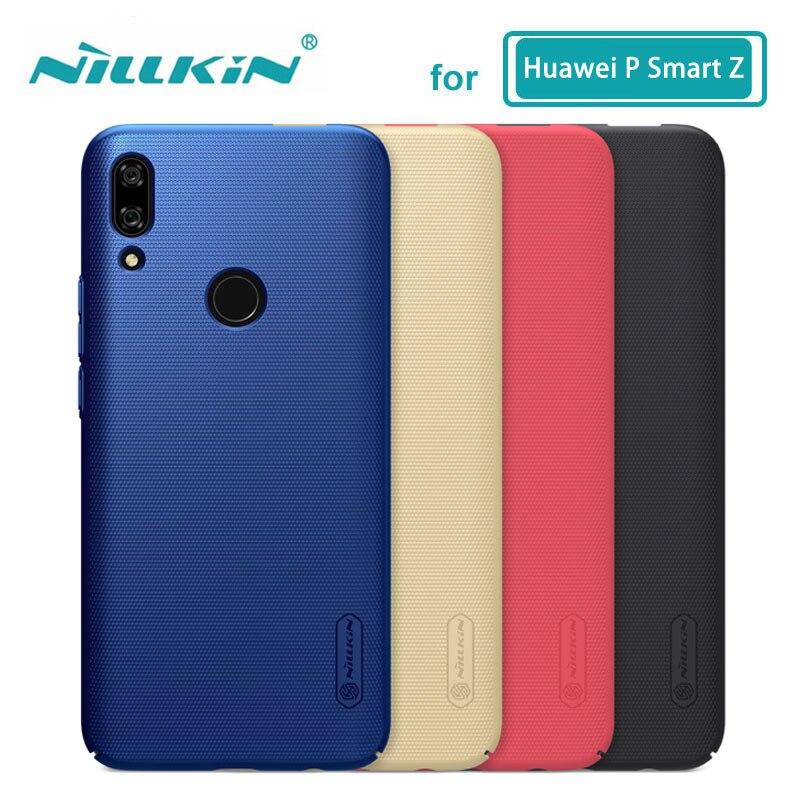 Huawei P Z Inteligente Invólucro Caso Nillkin Escudo Fosco PC Rígido de Volta Caso Capa para o Huawei P Z Inteligente