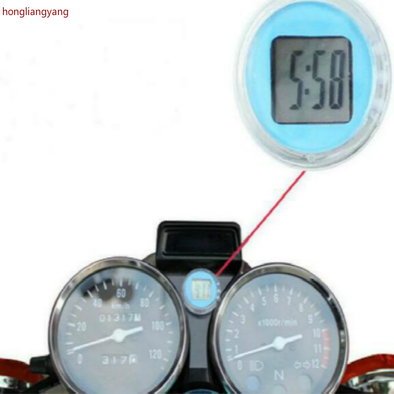 waterproof sticker motorcycle clock motorcycle scooter motorbike Any post black red blue green white yellow in Decals Stickers from Automobiles Motorcycles