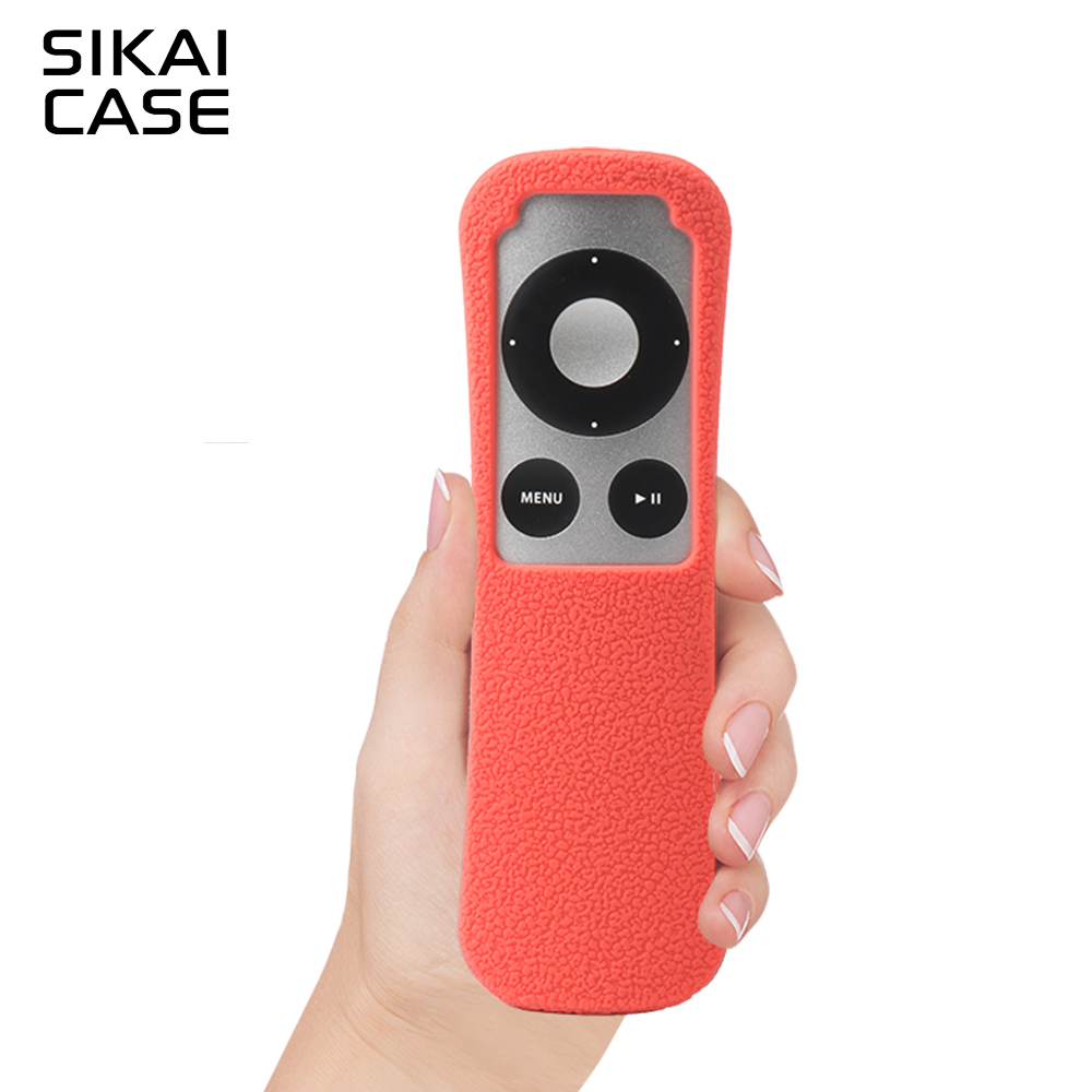 SIKAI Patent Silicone Case for Apple TV 3 Remote Case Ergonomic design Dustproof Silicone Case For Apple TV 2Gen Remote Case
