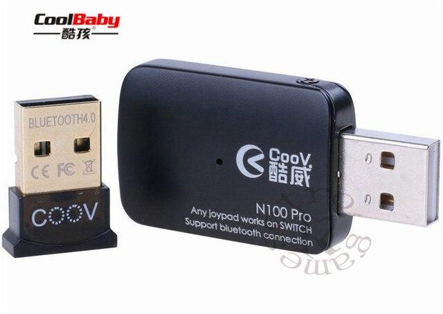 Dhl Coov N100 Pro Bluetooth Joypad Converter Adapter Usb Stick For