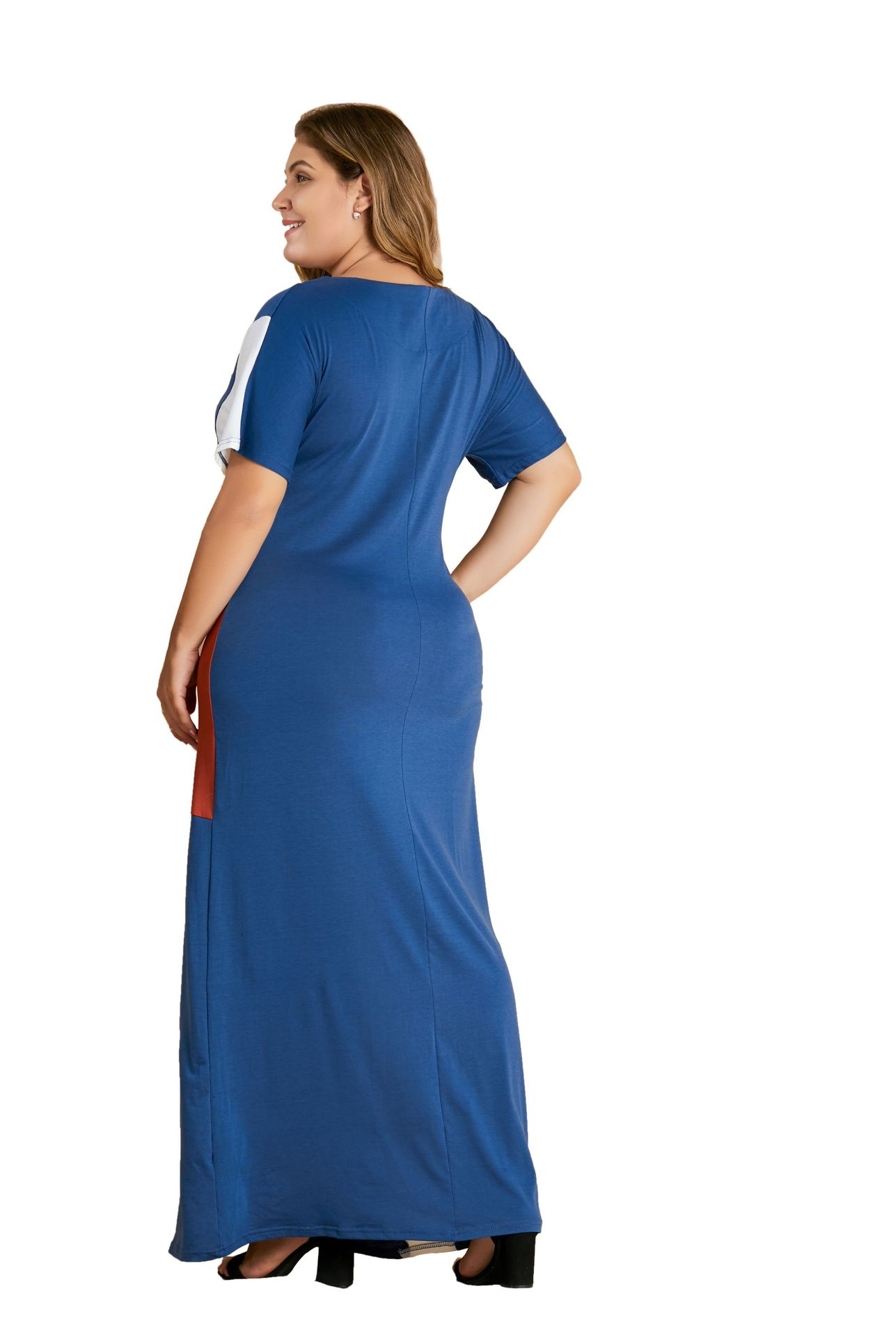 Oversized Plus Size Large Big L 3XL 4XL Long Maxi T Shirt Dress Women Loose Casual Robe Dresses 2019 Summer Fashion Clothing in Dresses from Women 39 s Clothing