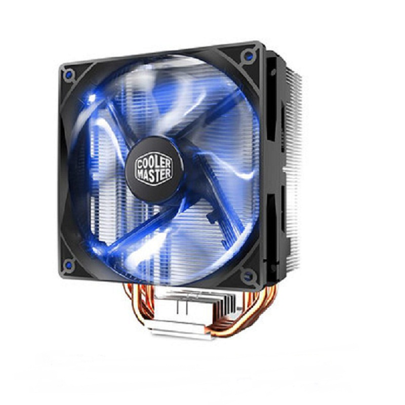 Cooler Master T400i 4 Heatpipe CPU cooler for Intel LGA 775 1155 1156 1366  2011 CPU radiator 120mm 4pin cooling CPU fan PC quiet