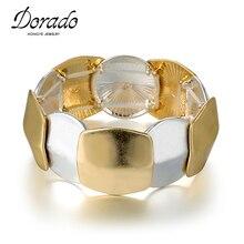 Dorado новые регулируемые браслеты в стиле панк и хип-хоп для женщин, браслет для мужчин и женщин, крутые очаровательные модные ювелирные изделия pulseira