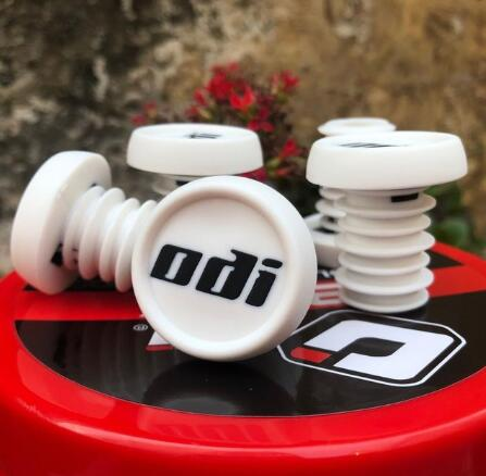 ODI Bar-End-Plugs BMX Firm-Handlebar-Caps Bike Mountain-Bicycle-Grip MTB DH Lightweight
